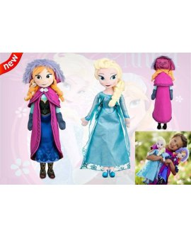 Disney Frozen Elsa & Anna Plush Doll set 40cm NEW