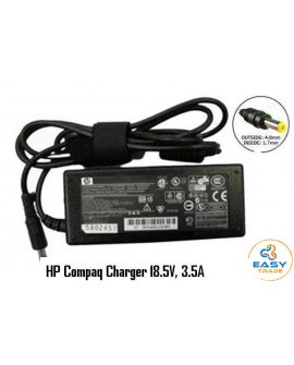 HP Compaq 18.5V 3.5A Charger, Yellow Tip