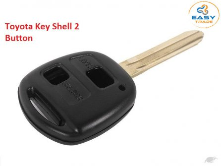 Toyota Key Shell TOY43 TWO Side button