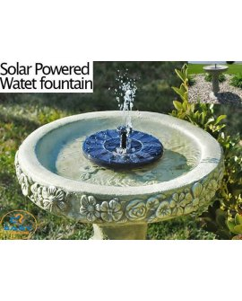 Water Fountain Solar Powered Pump Kit Pond