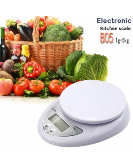 Precision Digital Kitchen Scales 1g-5Kg