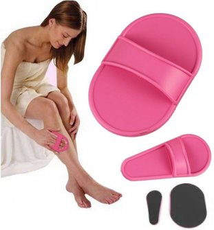Smooth legs hair removal kits 2 packets 10 pads