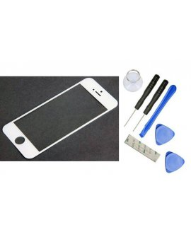 iPhone 5 Screen Glass - White with Opening Tools