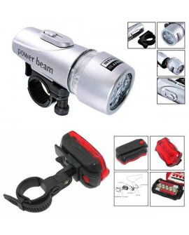 Bike Light Combo (1x Head Lights + 1x Tail Lights)